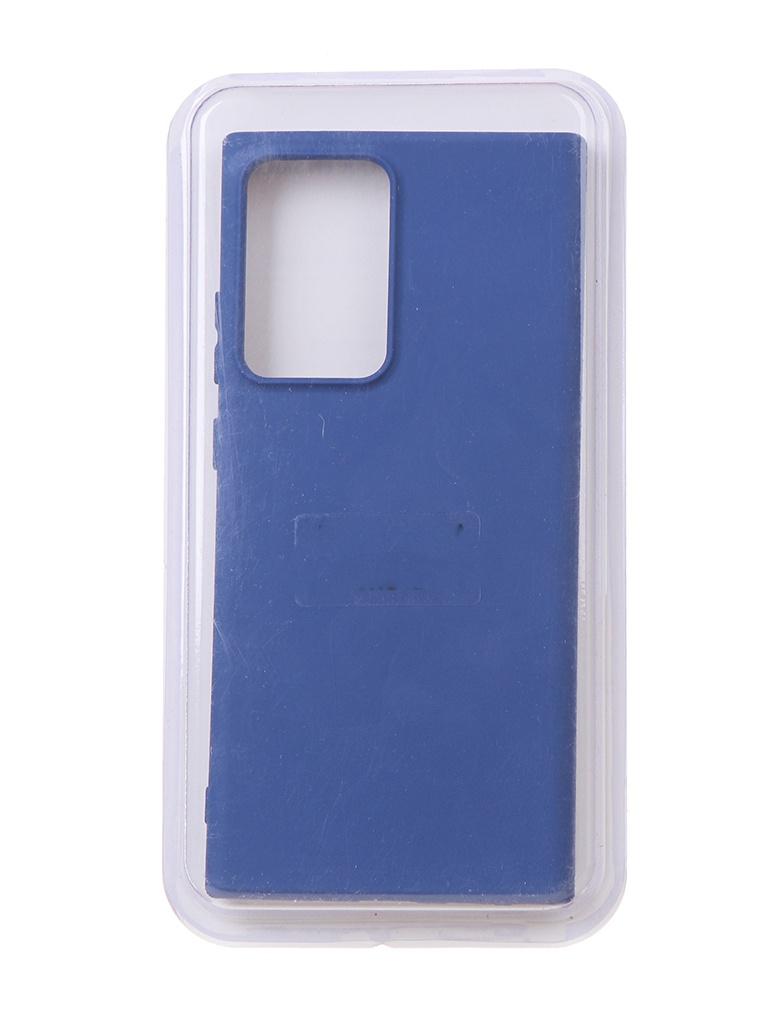 Чехол Innovation для Samsung Galaxy Note 20 Ultra Soft Inside Blue 18973 чехол innovation для samsung galaxy m31s soft inside blue 18952