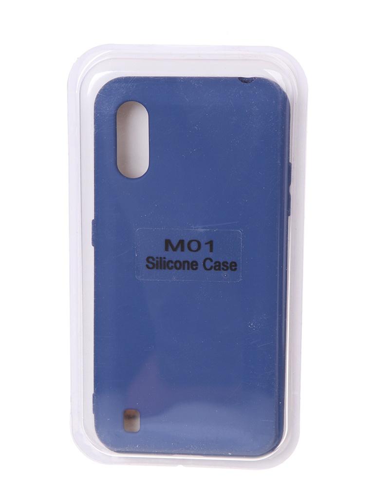 Чехол Innovation для Samsung Galaxy M01 Soft Inside Blue 18978 чехол innovation для samsung galaxy m31s soft inside blue 18952