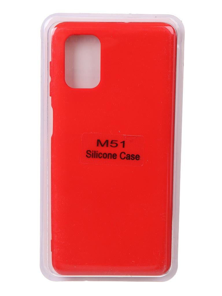 Чехол Innovation для Samsung Galaxy M51 Soft Inside Red 18982