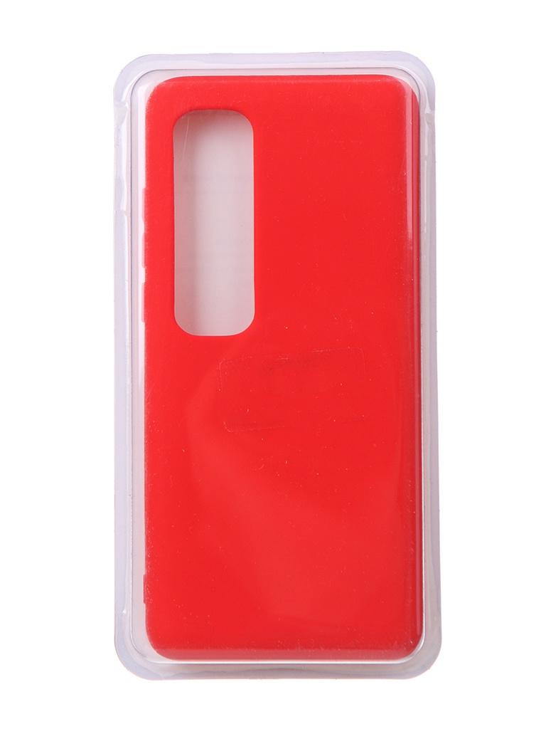 Чехол Innovation для Xiaomi Mi 10 Ultra Soft Inside Red 18997