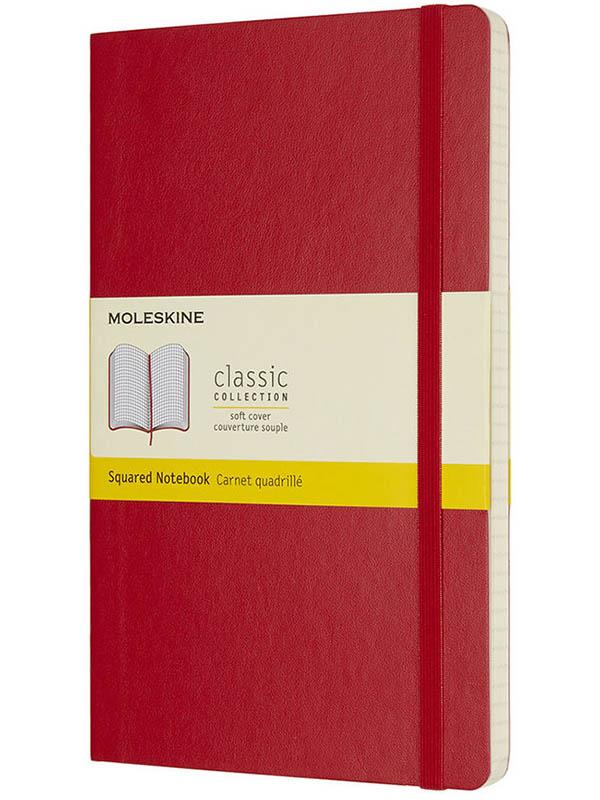 Блокнот Moleskine Classic Soft Large 130х210mm 96 листов Red QP617F2 / 430974
