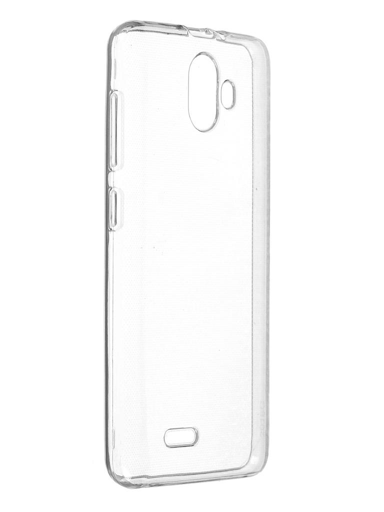 Чехол BQ для BQ-5016G Choice / BQ-5046L Choice LTE Silicone Transparent смартфон bq mobile bq 5046l choice lte ultraviolet