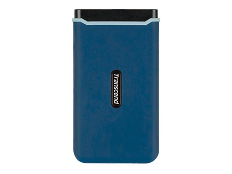 Фото - Твердотельный накопитель Transcend ESD370C 500Gb Blue TS500GESD370C портативный ssd transcend esd370c 500gb usb 3 1 g2 type c ts500gesd370c