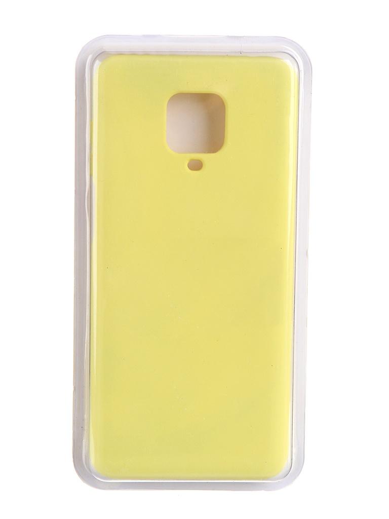 Чехол Innovation для Xiaomi Redmi Note 9 Pro / Max Soft Inside Yellow 19192