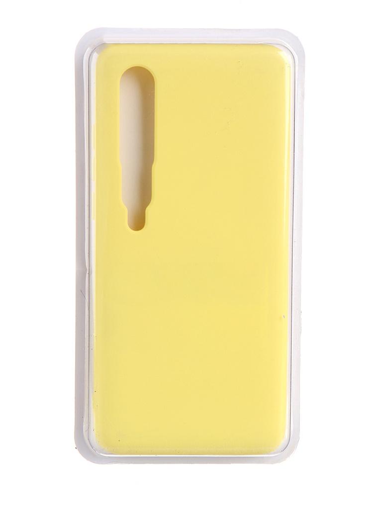 Чехол Innovation для Xiaomi Mi 10 / Pro Soft Inside Yellow 19208