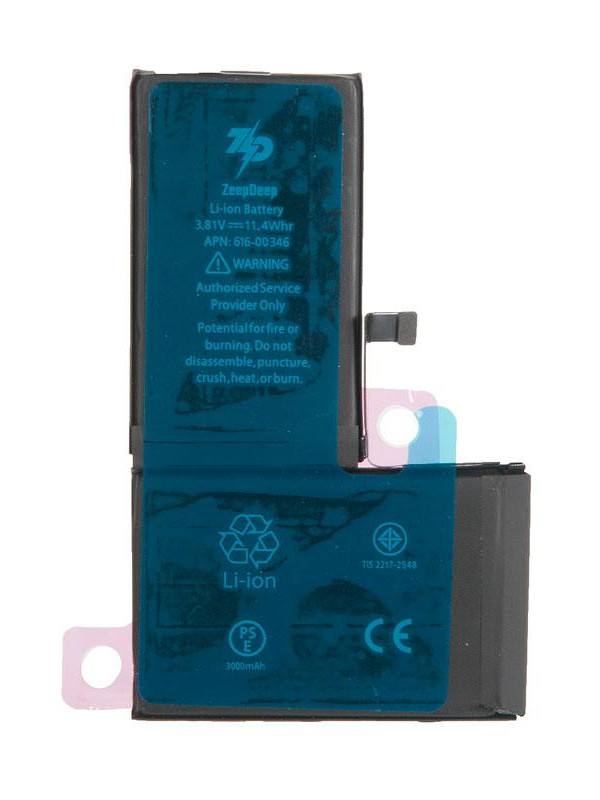 Аккумулятор ZeepDeep для APPLE iPhone X 3000mAh 769707
