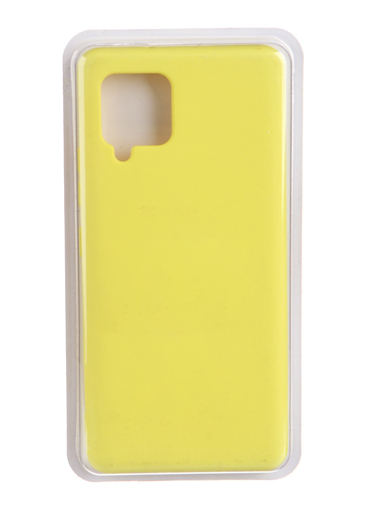 Чехол Innovation для Samsung Galaxy A42 Soft Inside Yellow 19096