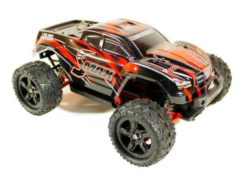 Радиоуправляемая игрушка Remo Hobby Smax Upgrade 4WD 1:16 Red RH1631UPG