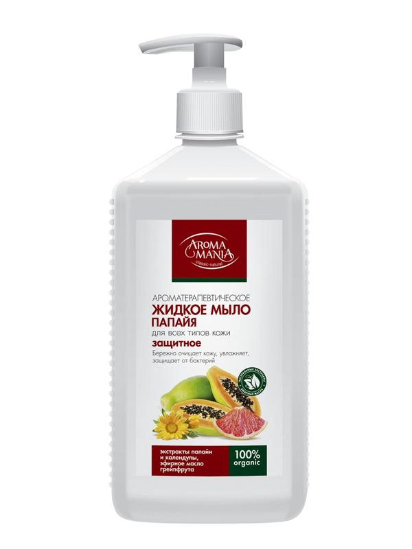 Жидкое мыло AromaMania Папайя 1L 297341