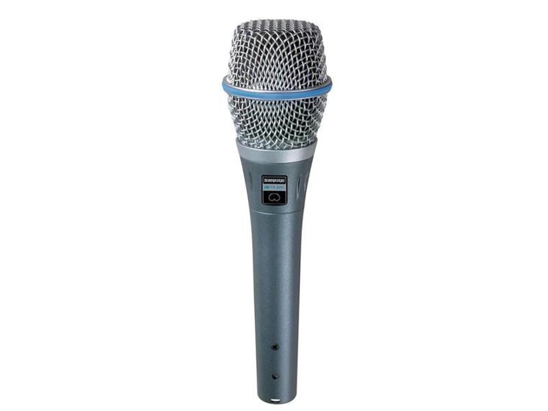Фото - Микрофон Shure Beta 87A микрофон shure beta 56a серый
