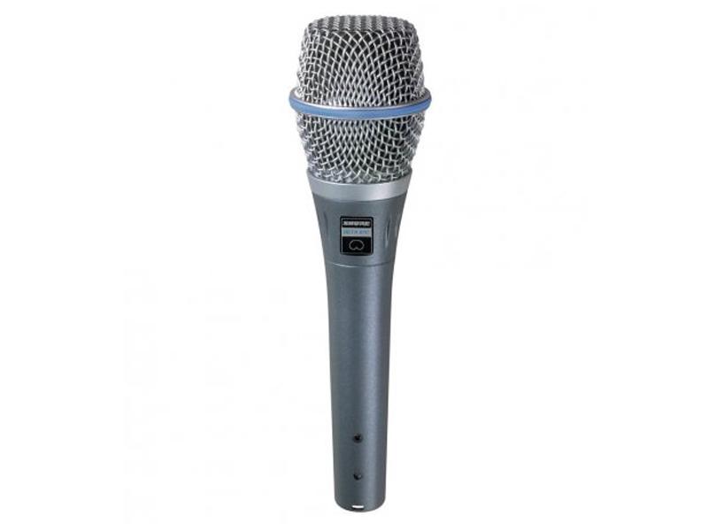 Фото - Микрофон Shure Beta 87C микрофон shure beta 56a серый