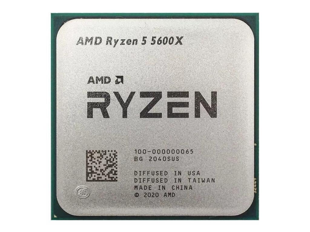 Процессор AMD Ryzen 5 5600X (3700MHz/AM4/L2+L3 32768Kb) 100-000000065 OEM