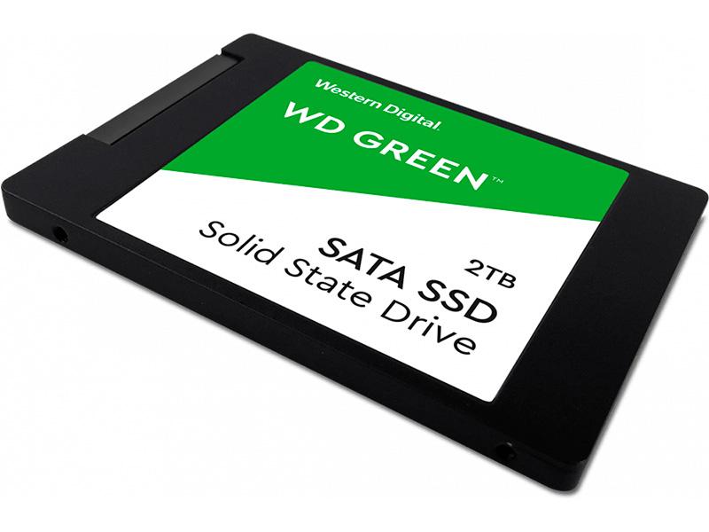 Твердотельный накопитель Western Digital WD Green 2Tb WDS200T2G0A