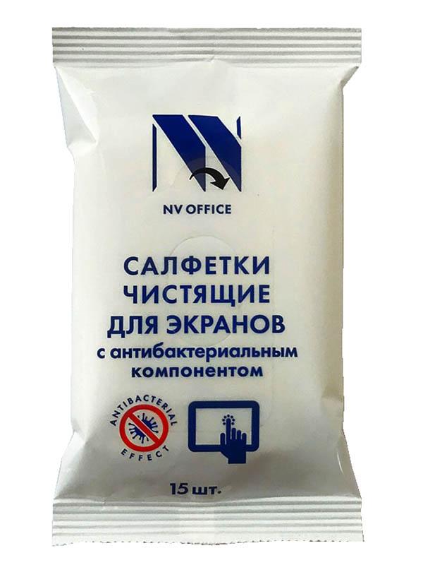 Антибактериальные салфетки NV Print NV-Office 153x129mm 15шт B3448