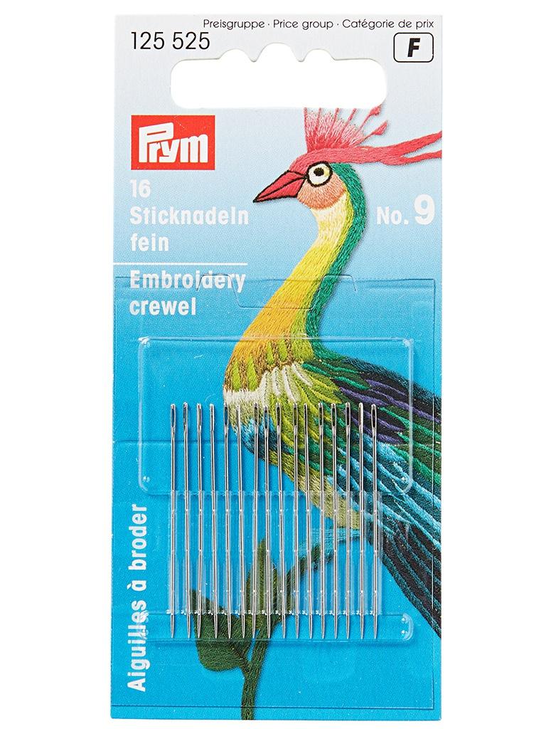 Иглы для вышивки Prym №9 125525
