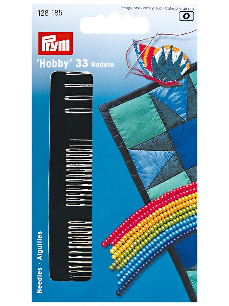 Иглы для шитья Prym 33шт 128185
