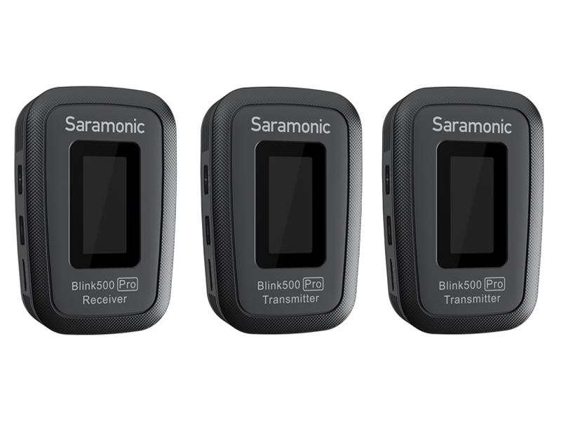 Фото - Радиосистема Saramonic Blink500 Pro B2 (TX+TX+RX) радиосистема saramonic blink500 b1w txw rxw white a00958