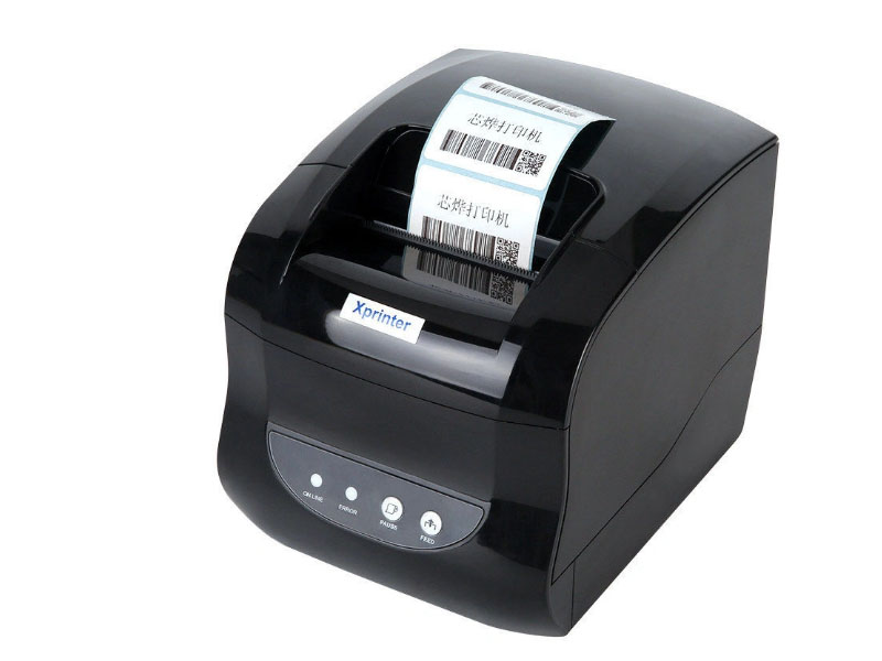 Принтер Xprinter XP-365B +2 рулона принтер xprinter xp 360b