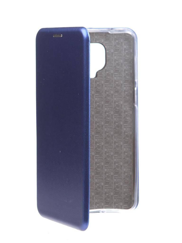 Фото - Чехол Zibelino для Xiaomi Redmi Note 9S / 9 Pro Book Blue ZB-XIA-RDM-NOT9S-BLU чехол zibelino для xiaomi redmi 9 book platinum grey zb xia rdm 9 gry