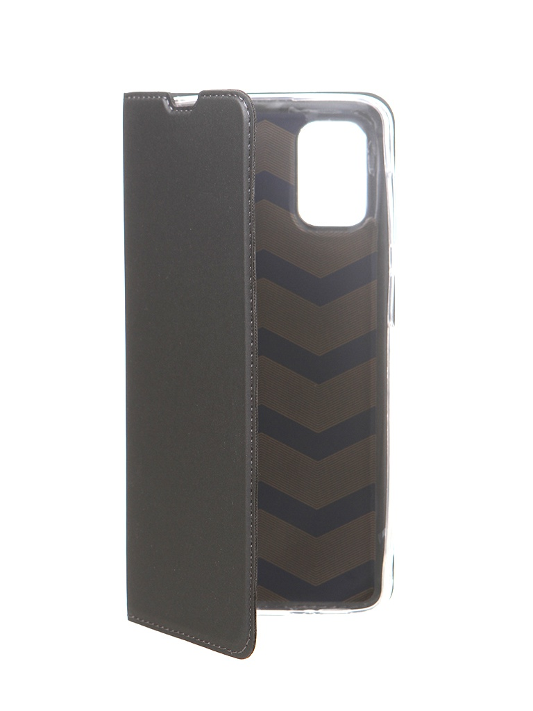 Чехол Brosco для Samsung Galaxy M51 Black SS-M51-BOOK-BLACK