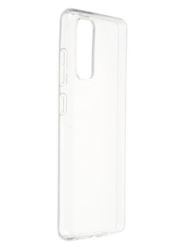 Чехол Brosco для Samsung Galaxy S20FE TPU Transparent SS-S20FE-TPU-TRANSPARENT