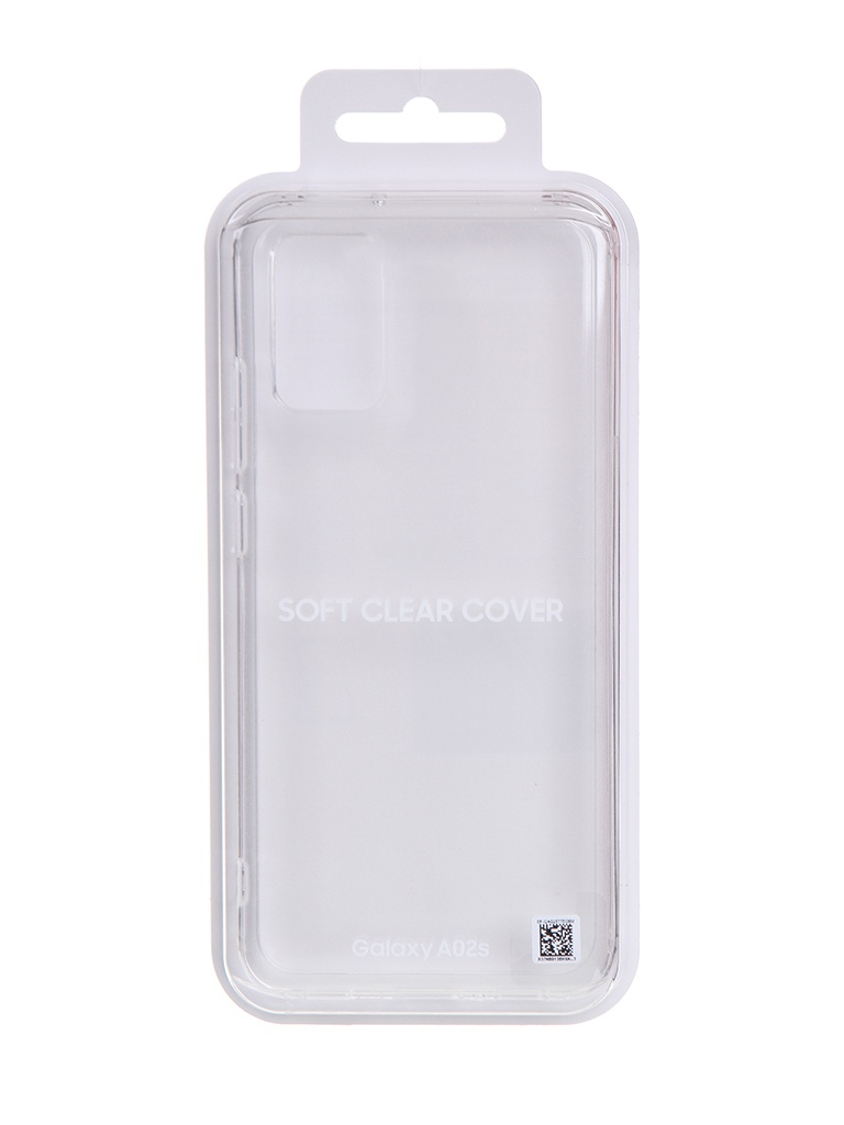 Чехол для Samsung Galaxy A02s Soft Clear Cover Transparent EF-QA025TTEGRU