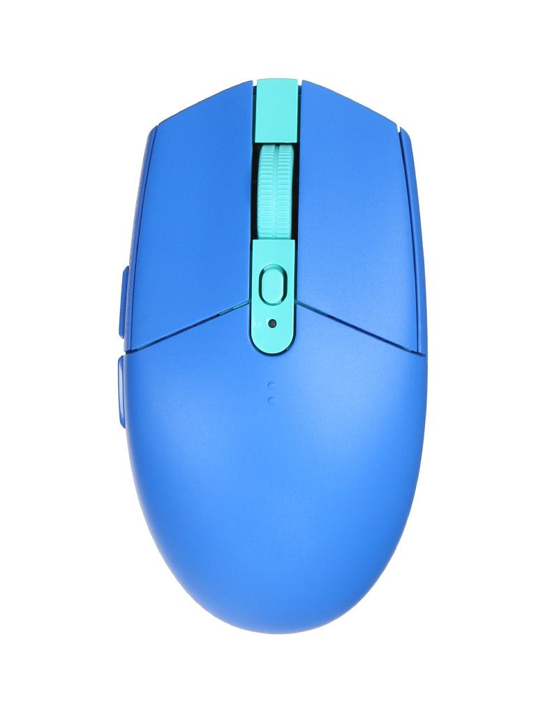 Мышь Logitech G G305 Lightspeed, синий