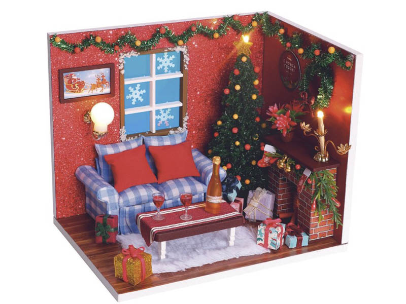 Сборная модель DIY House С Новым годом! PC2009