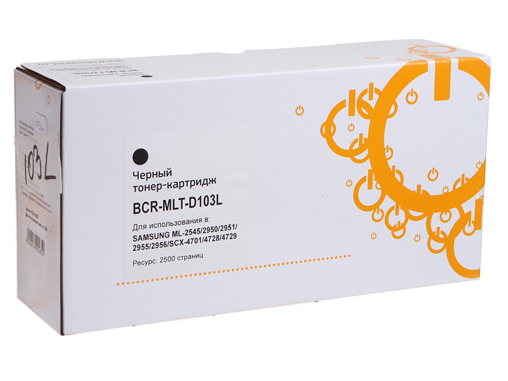 Картридж Bion MLT-D103L для Samsung SCX-4728FD/ML-2955ND/2955DW Black