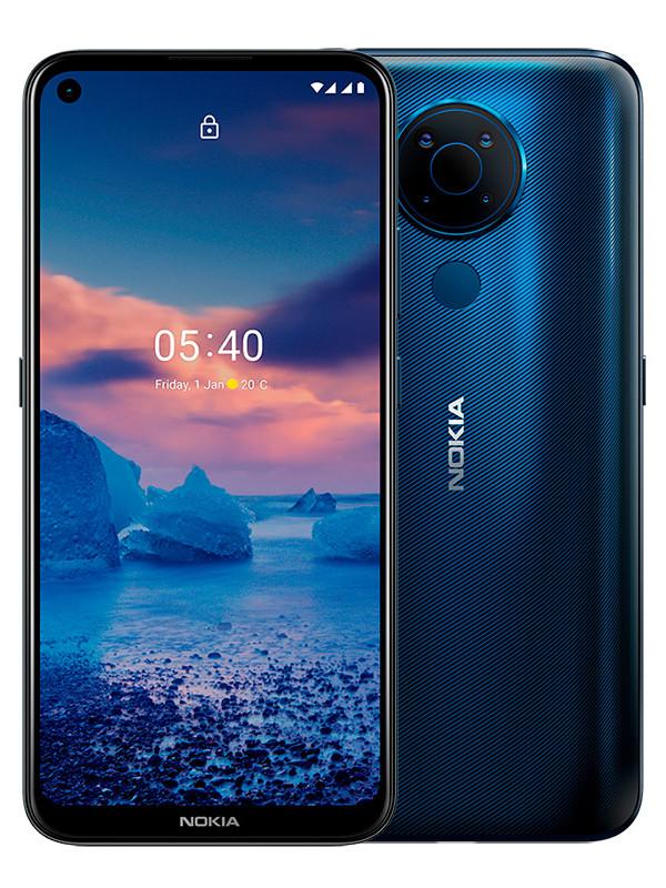 Сотовый телефон Nokia 5.4 4/128GB Blue сотовый телефон vsmart joy 3 4 64gb purple topaz