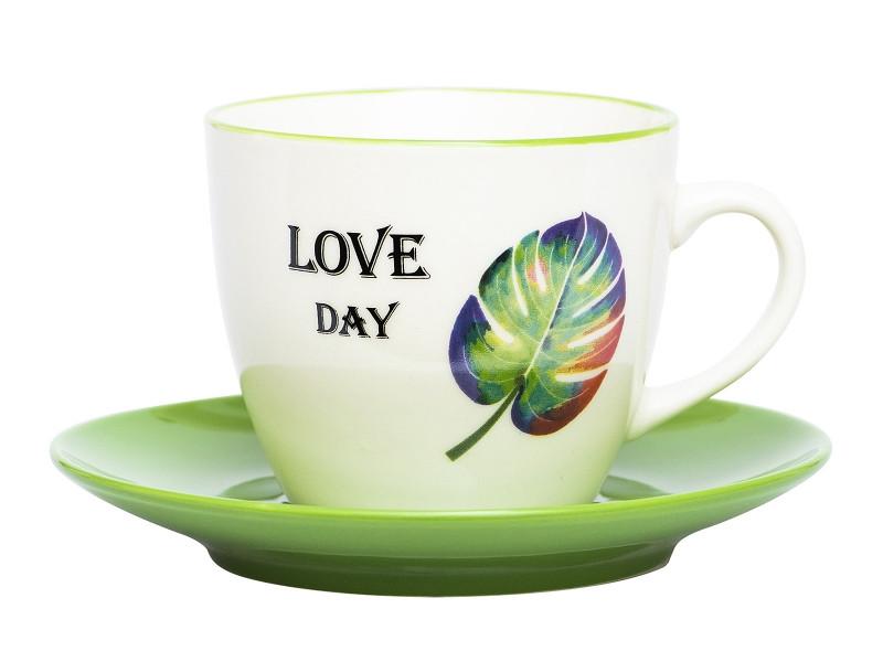 Кружка Эврика Монстера Love Day 220ml 99935