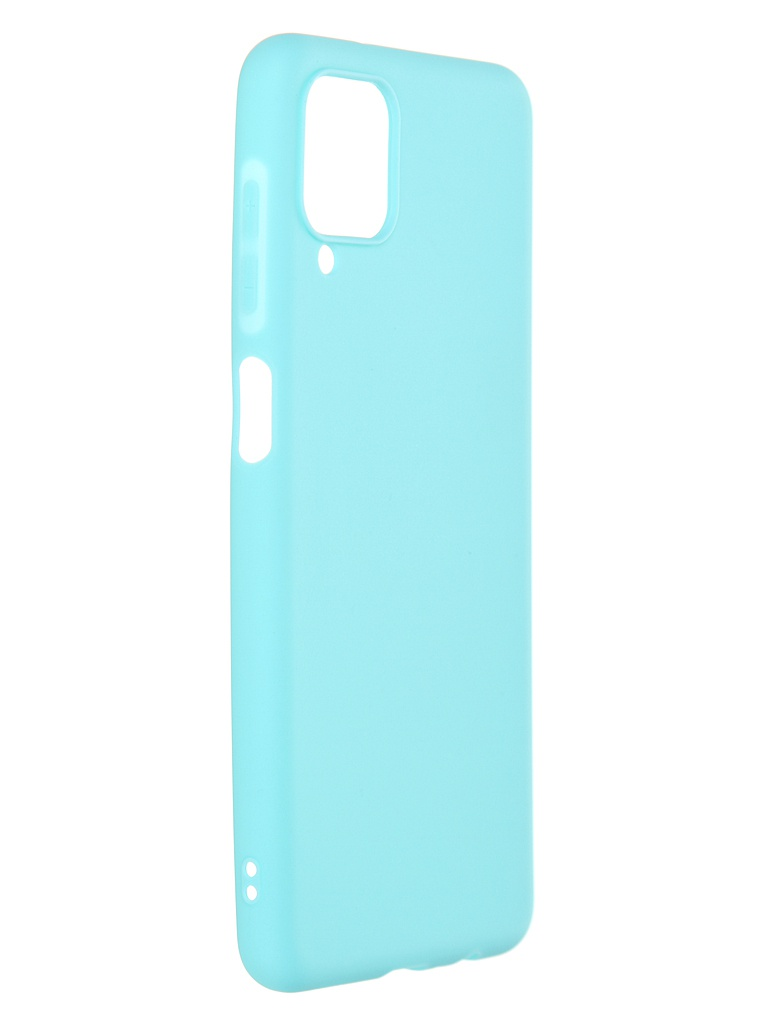 Чехол Neypo для Samsung Galaxy A12 2021 Soft Matte Silicone Turquoise NST20529