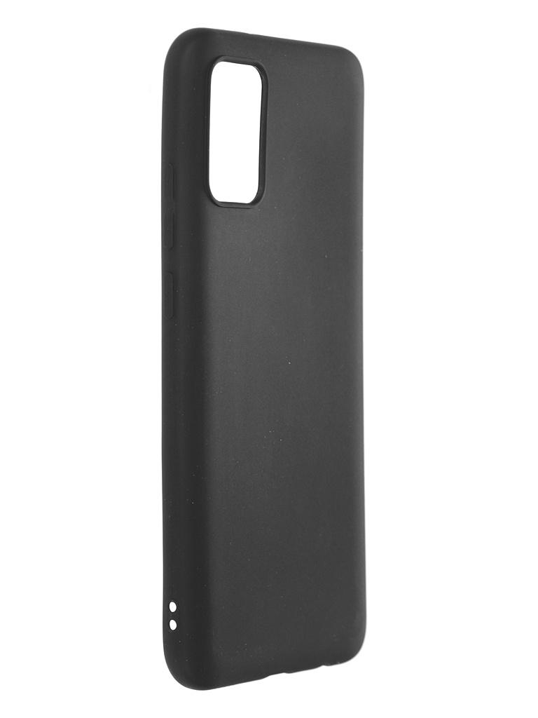 Чехол Neypo для Samsung Galaxy A02s 2021 Soft Matte Silicone Black NST20530 чехол neypo для samsung a51 2020 silicone case black nsc16312