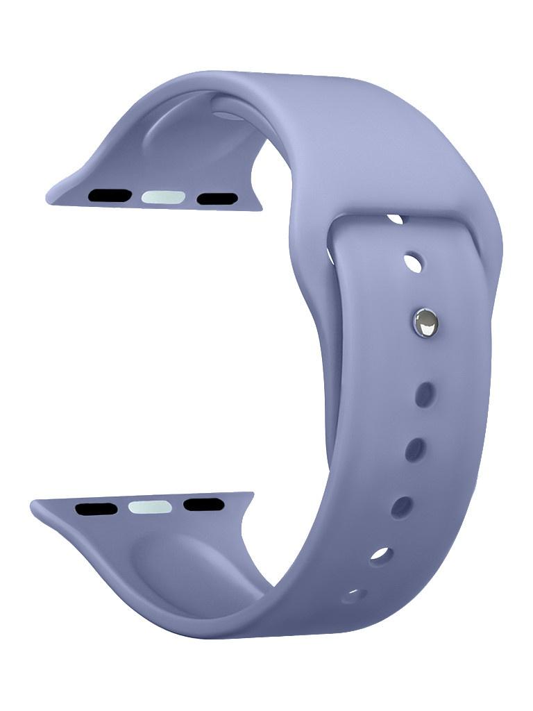Аксессуар Ремешок Deppa для APPLE Watch 44mm/42mm Band Silicone Lavender 47135 аксессуар ремешок samsung galaxy watch 42mm silicone purple et ysu81mvegru