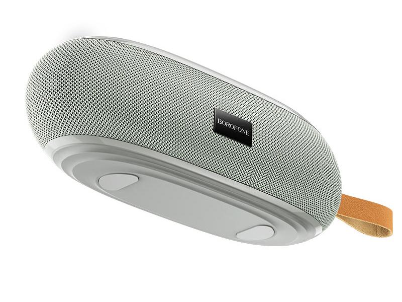 Колонка Borofone BR9 Erudite Sports Wireless Speaker Grey 6931474727251