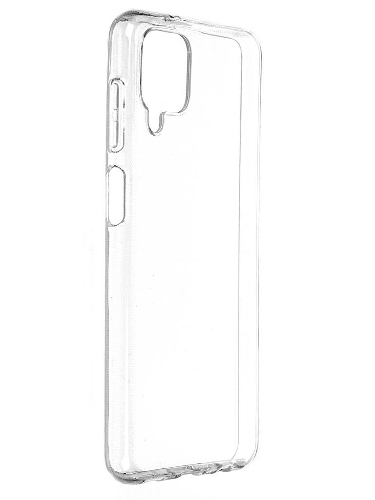 Чехол Brosco для Samsung Galaxy A12 SS-A12-TPU-TRANSPARENT