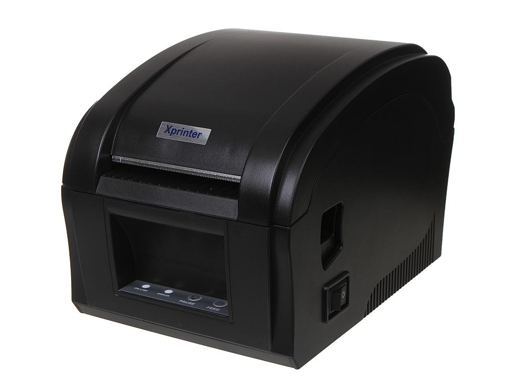 Принтер Xprinter XP-360B +2 рулона принтер xprinter xp 360b