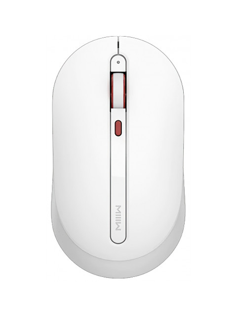 Мышь Xiaomi Miiiw Wireless Mouse Silent MWMM01 White мышь xiaomi mi dual mode wireless mouse silent edition white wxsmsbmw02