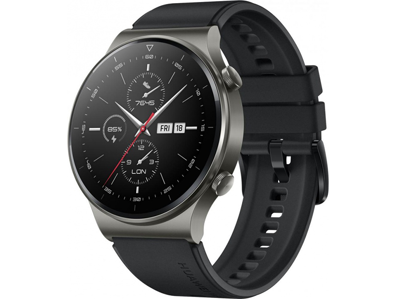 Умные часы Huawei GT 2 Pro 46mm Vidar-B19S Night Black 55025736 Выгодный набор + серт. 200Р!!! умные часы huawei watch gt 2e hector b19c 46mm black mint 55025294 выгодный набор серт 200р