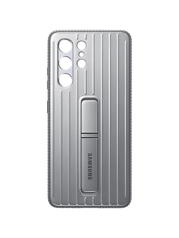 Чехол для Samsung Galaxy S21 Ultra Protective Standing Cover Light Gray EF-RG998CJEGRU