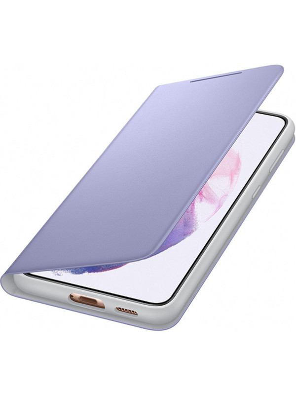 Чехол для Samsung Galaxy S21+ Smart LED View Cover Purple EF-NG996PVEGRU