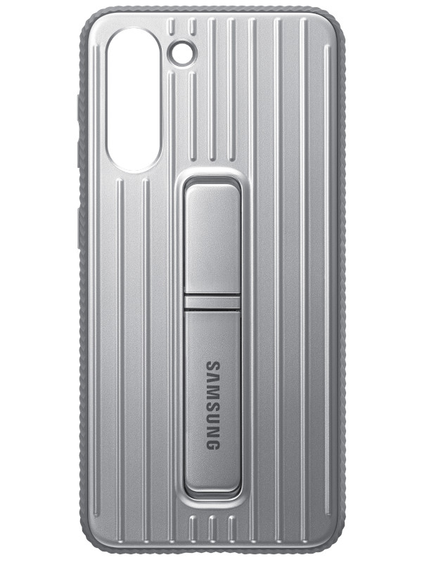 Чехол для Samsung Galaxy S21 Protective Standing Cover Light Gray EF-RG991CJE