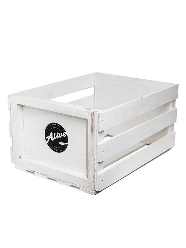 Фото - Аксессуар Ящик для 80 пластинок Alive Audio Nature White AABX-083 ящик зимний teho