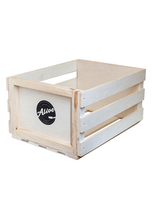 Фото - Аксессуар Ящик для 80 пластинок Alive Audio Nature Wood AABX-082 ящик зимний teho