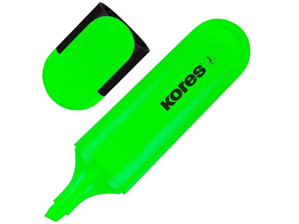 шерлок bright green Маркер Kores Bright Liner Plus 0.5-5mm Green 1272964
