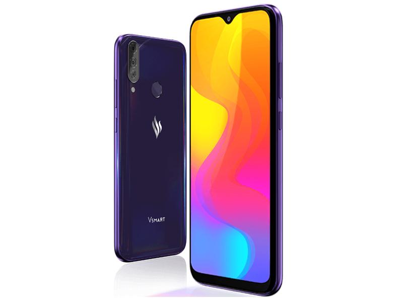 Сотовый телефон Vsmart Joy 3+ 4/64GB Purple Topaz сотовый телефон vsmart joy 3 4 64gb purple topaz