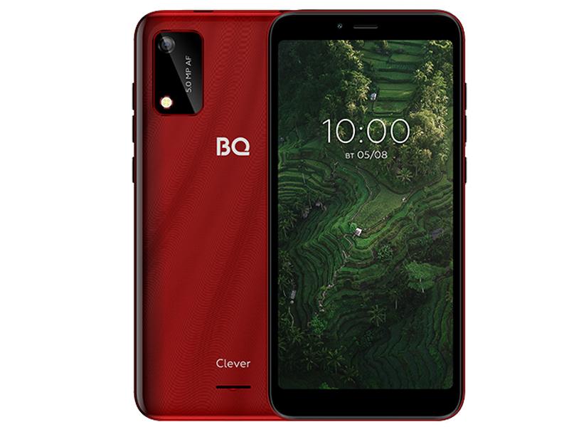Сотовый телефон BQ 5745L Clever 1/32Gb Red