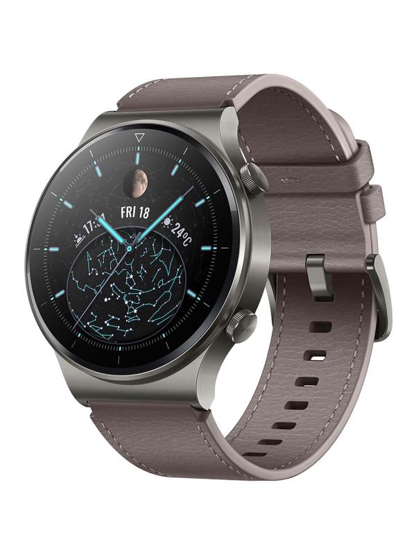 Умные часы Huawei GT 2 Pro 46mm Vidar-B19S Nebula Grey 55026317 Выгодный набор + серт. 200Р!!! умные часы huawei watch gt 2e hector b19c 46mm black mint 55025294 выгодный набор серт 200р