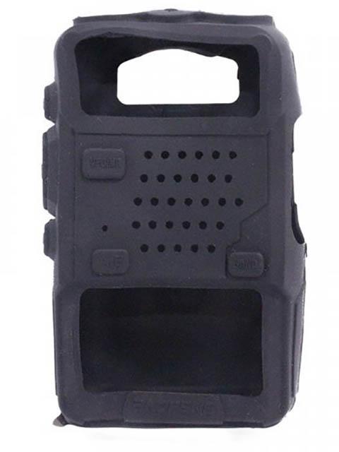 Чехол Baofeng для UV-5R Silicone Black 14860