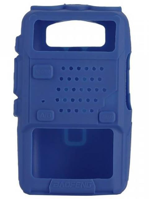 Чехол Baofeng для UV-5R Silicone Blue 14860